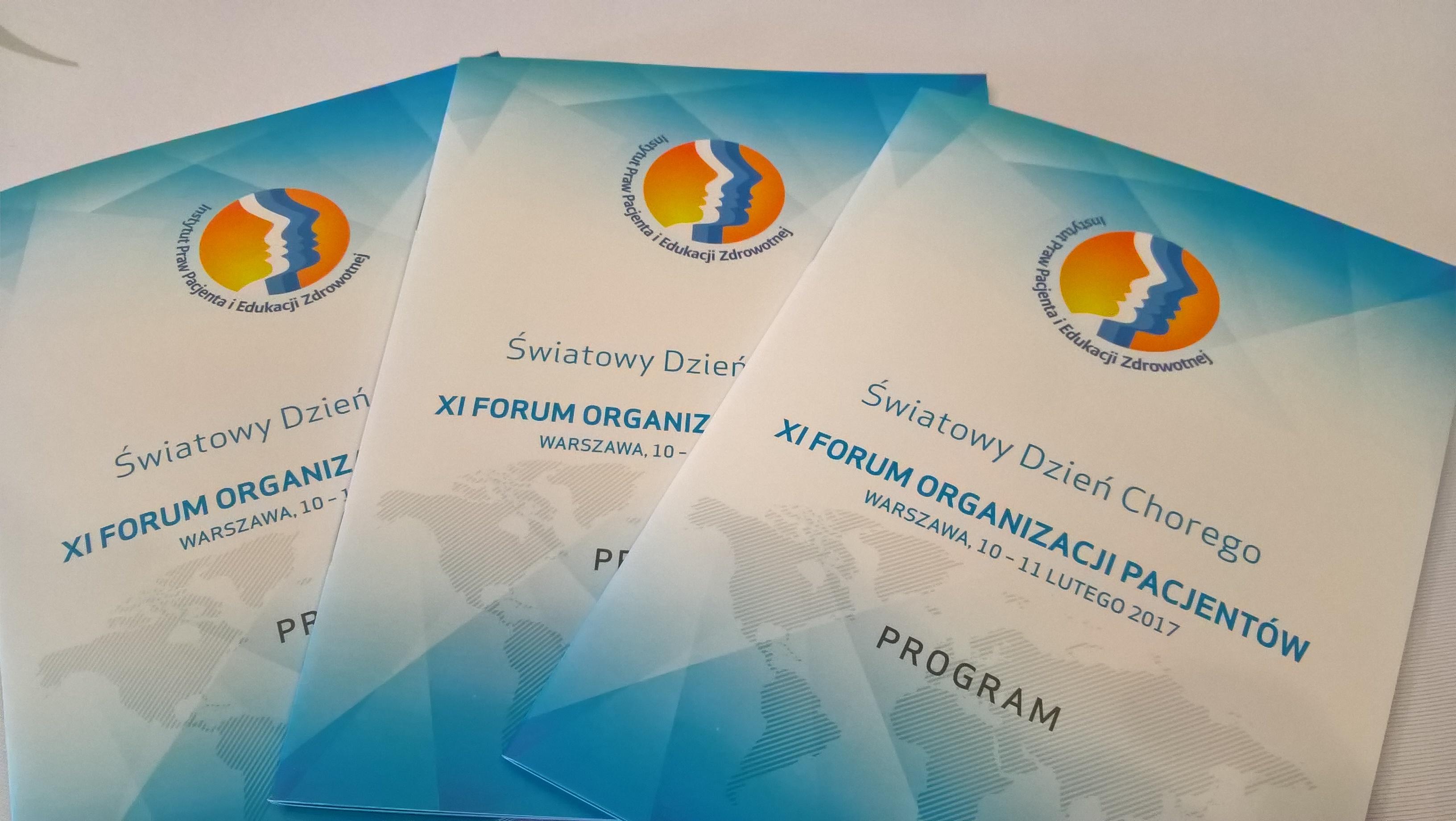 XI Forum Organizacji Pacjentów